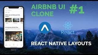 Gambar cover #1 Airbnb UI Clone | React Native | Expo | Layout Series