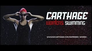 Carthage College Womens Swimming Feature Video