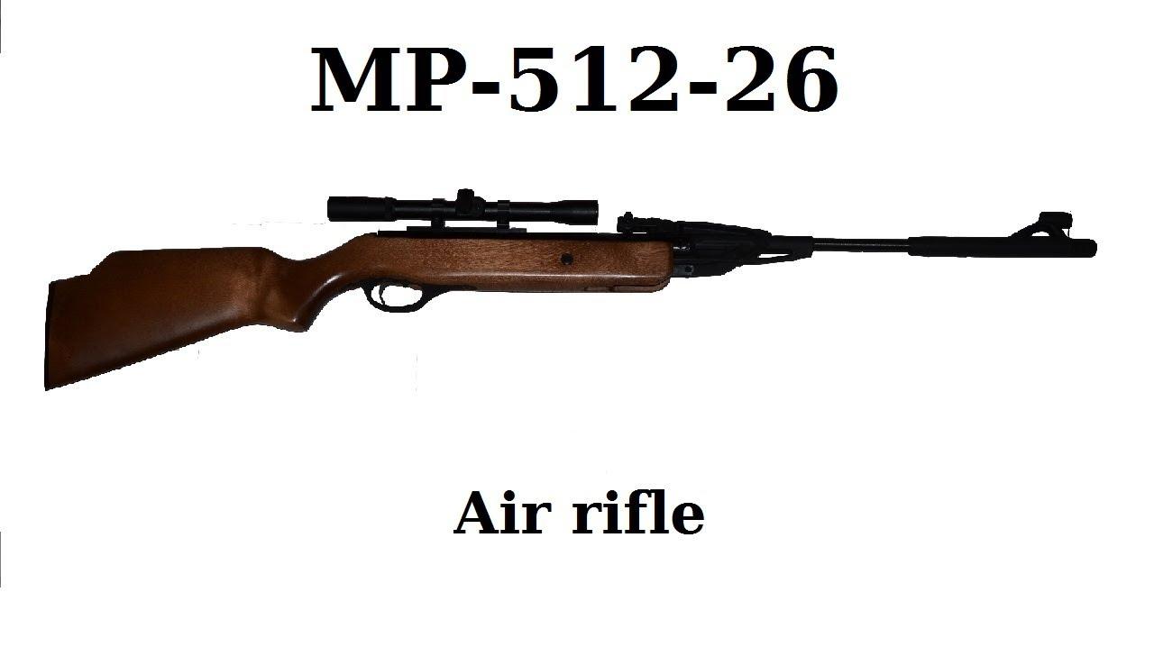 MP-512 air rifle - YouTube