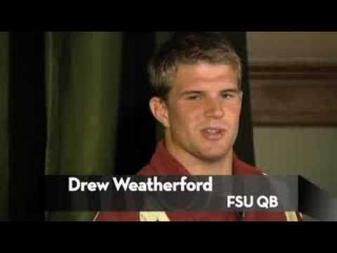 Drew Weatherford, Sean Glennon, Cullen Harper Fami...