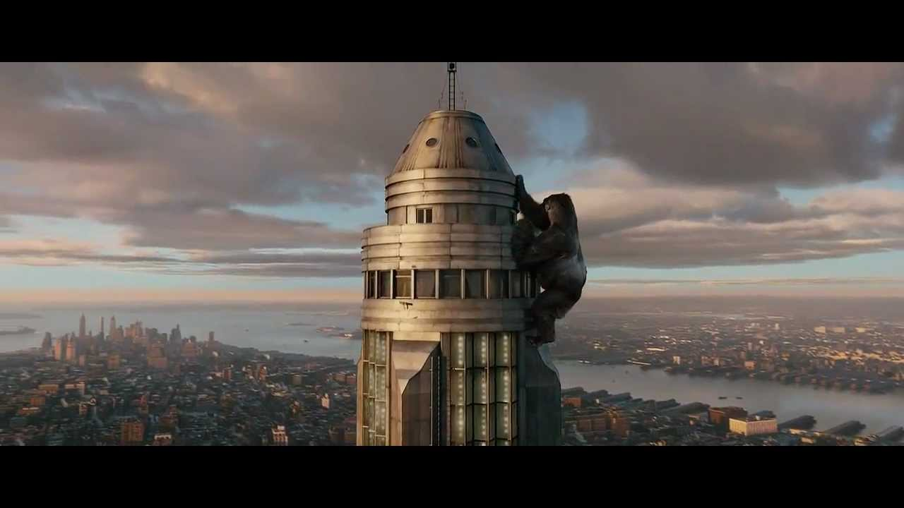 King Kong - Top of Empire State Building (HD -720p) - YouTube
