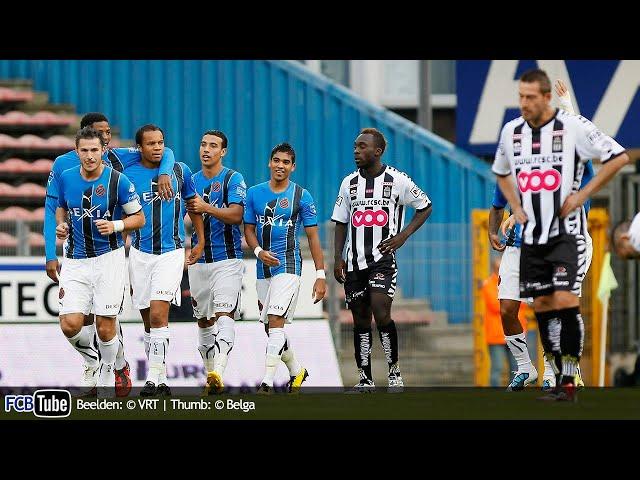 2010-2011 - Jupiler Pro League - 07. SC Charleroi - Club Brugge 0-5