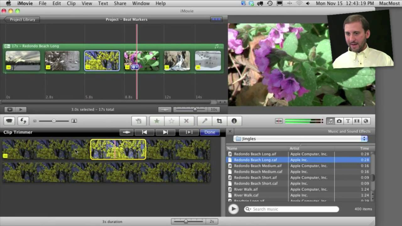 Use iMovie to Make a Music Video in Minutes - iMovie '11