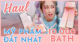 UNBOXING HIGH-END HAUL | DIOR COSMETICS, TOO FACED, TEDDY BLACK BAG| HƯƠNG WITCH