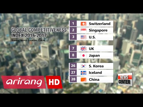 Korea ranks 26th on WEF global competitiveness index