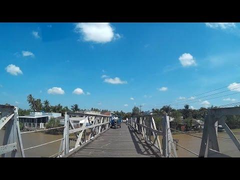 Từ Mỏ Cày Nam đến xã Định Thủy (Bến Tre)