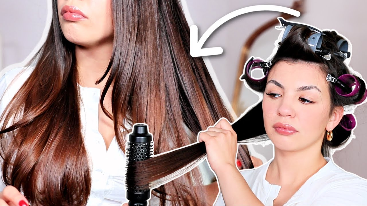 AT HOME BLOWOUT TUTORIAL | Perfect Salon Blowout! Quick And Easy