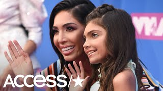 Farrah Abraham Brings Daughter Sophia To The 2018 MTV VMAs! | Access