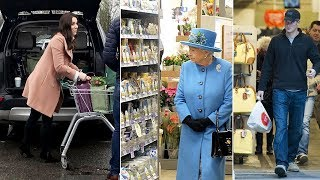Do Kate Middleton and royal family member do their own grocery shopping?