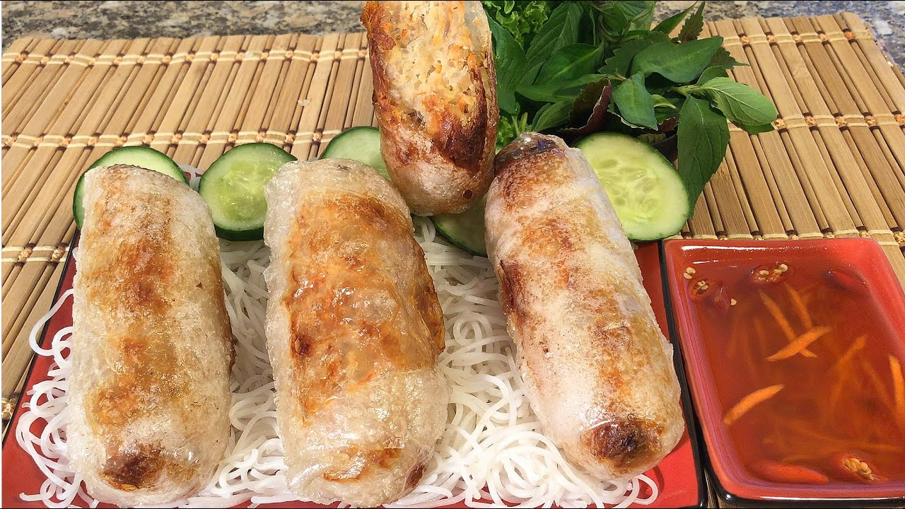 How To Make Crispy Spring Rolls-Cha Gio-Vietnamese Food ... Vietnamese Fried Spring Rolls Recipe