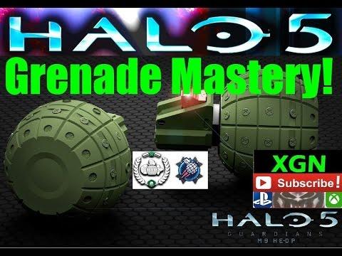 Halo 5 Grenade Mastery req pack, Grenadier Ultra Rare Emblem and unlocks!