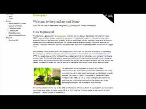 IKS editor demo Screencast 1