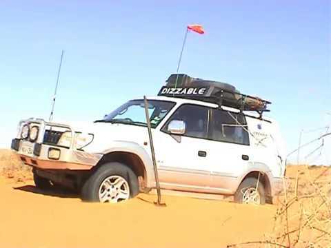 Dizzable's Simpson Desert Trip in Toyota Prado Grande 4WD - 2006