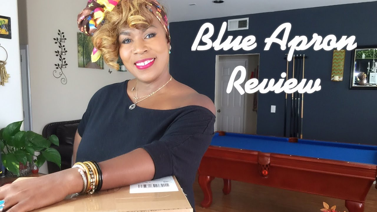 Blue apron top chef contest - Blue Apron Food Unboxing New Brushes