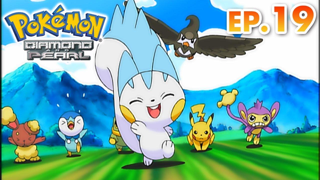 Pokémon Diamond and Pearl | EP19 | Twice Smitten, Once Shy! | Pokémon Asia ENG