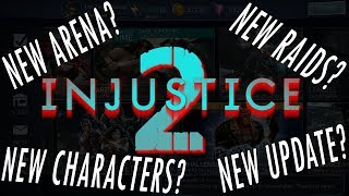 NEW ARENA? NEW RAIDS? NEW UPDATE? NEW CHARACTER! UNLOCKING CHARACTERS INJUSTICE 2 MOBILE LIVESTREAM!