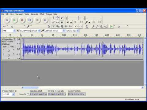 Tutorial: Language Translation Recording with Audacity