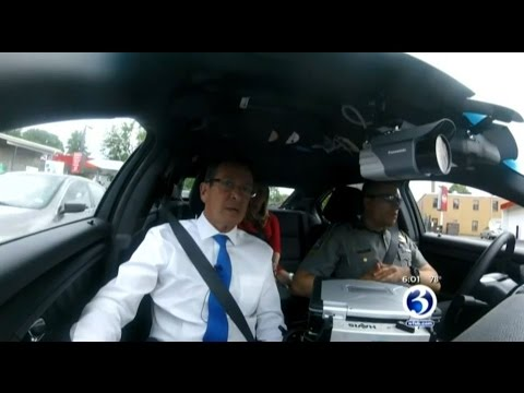 Gov. Malloy discusses law enforcement with WFSB