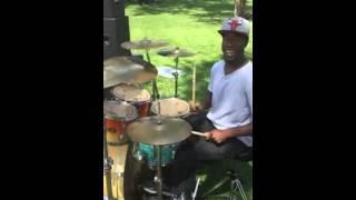 Tasha Cobbs happy drum cover