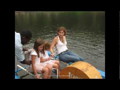 2008 Congo   Kinshasa, Pédalo en Famille au Lac Ma Vallée