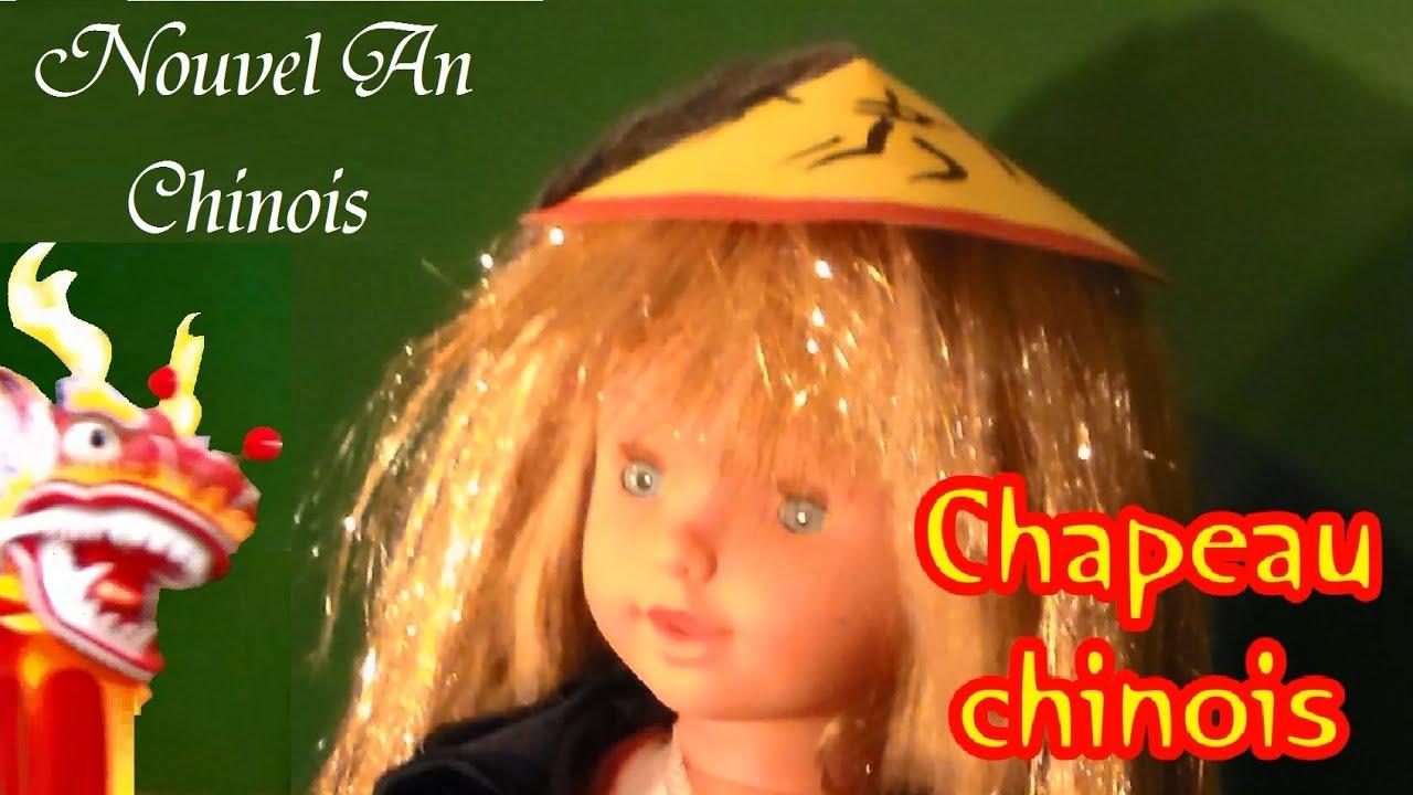 Bricolage un chapeau chinois f te nouvel an chinois et carnaval youtube - Deguisement animaux a faire sois meme ...