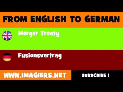 FROM ENGLISH TO GERMAN = Merger Treaty