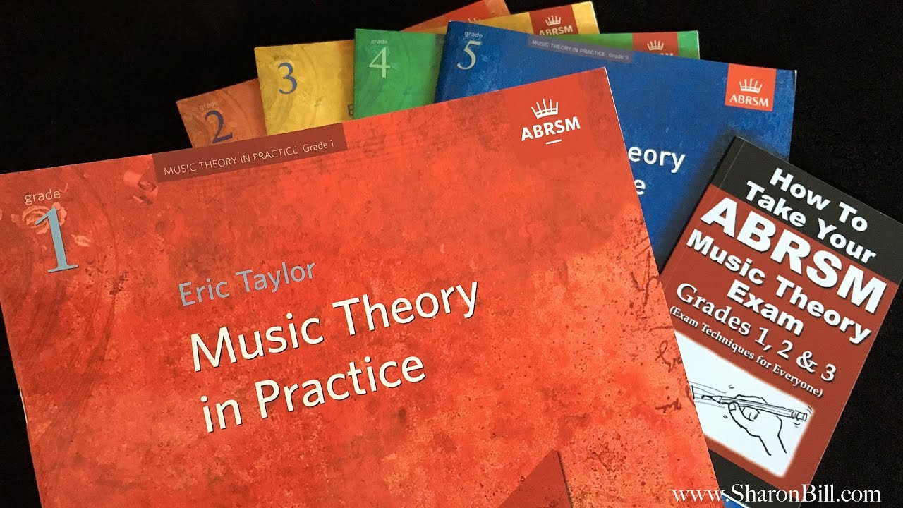 Exam Preparation for ABRSM Grade 1 Music Theory - workbook and past  practice papers with Sharon Bill