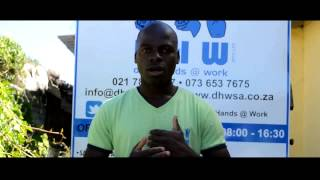 Award winner Charles Nyakurwa talks about his social enterprise: Deaf Hands at Work