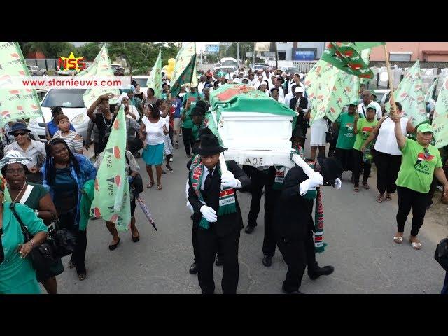 Afscheid en begrafenis Hildenberg