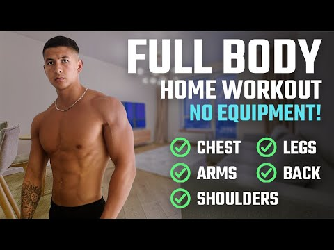 How To Build Muscle At Home: The BEST Full Body Home Workout For Growth