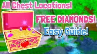 EVERY CHEST LOCATION In DIVINIA PARK! Royale High Chest Locations