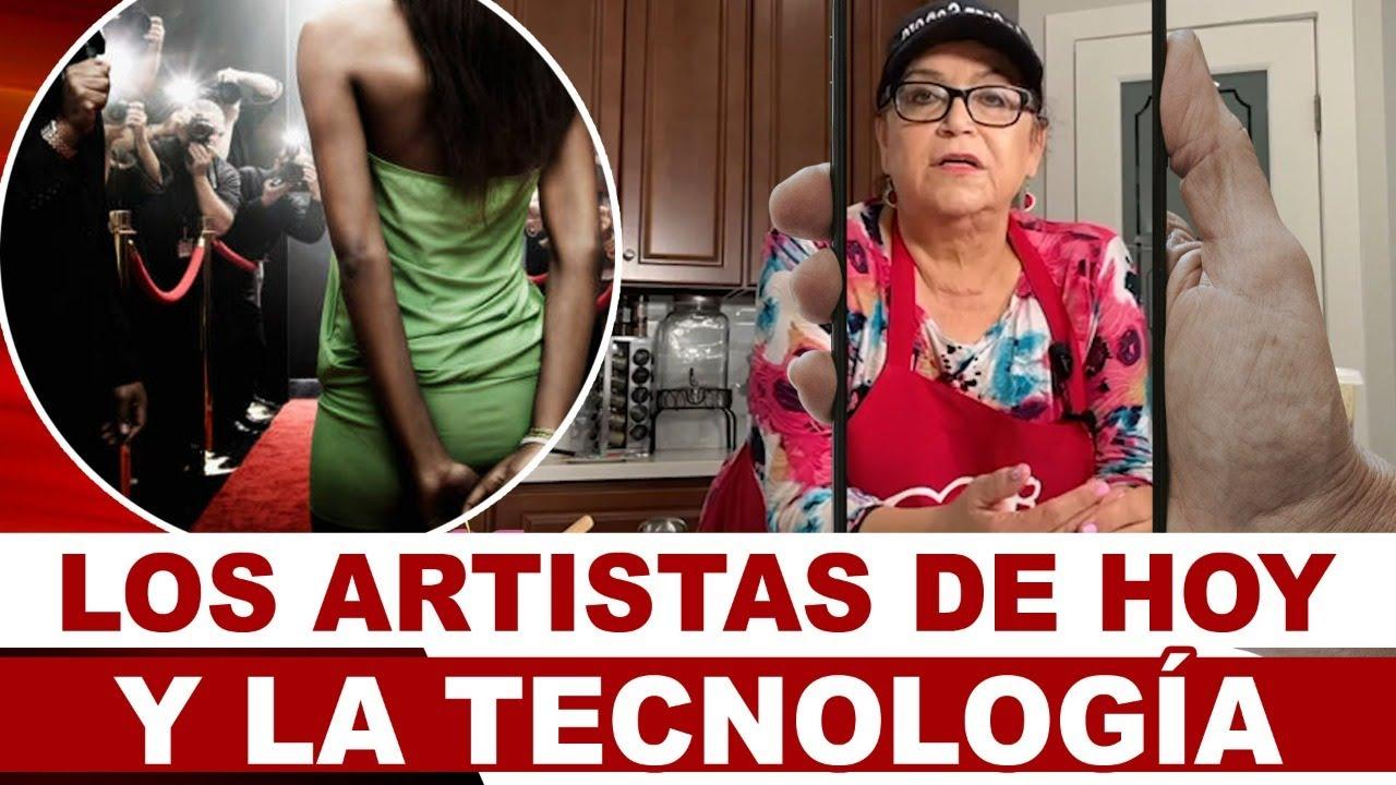 Los ARTISTAS DE HOY y LA TECNOLOGIA   Anécdotas de La Gran Señora   Doña Rosa Rivera