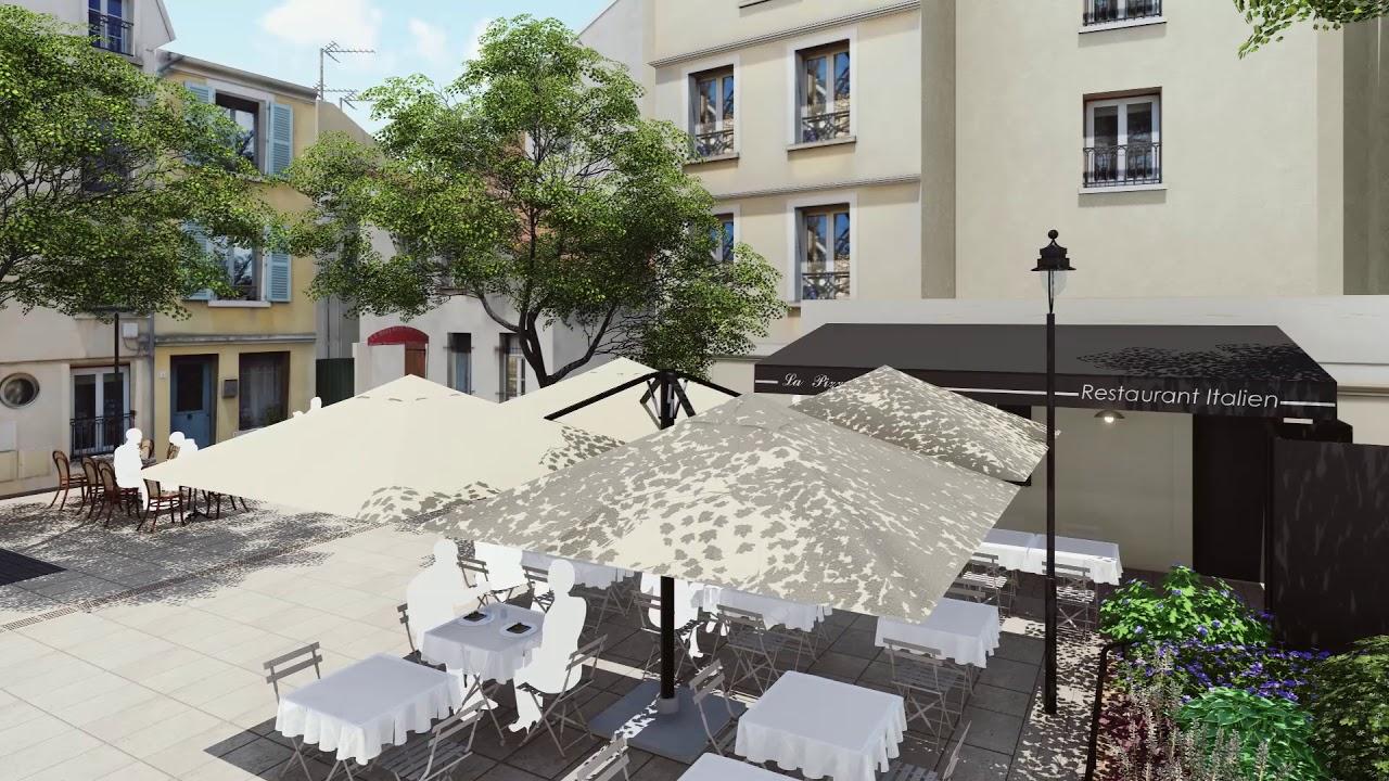 Home St Germain En Laye projet de réhabilitation de la cour larcher
