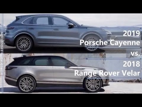 2019 Porsche Cayenne vs 2018 Range Rover Velar (technical comparison)