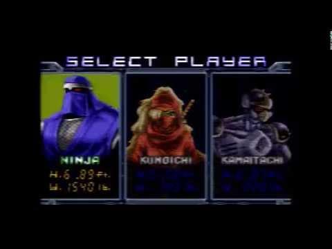 """Ninja Warriors Again - SNES (Hard) - """"Unkillable"""" One Life Run"""