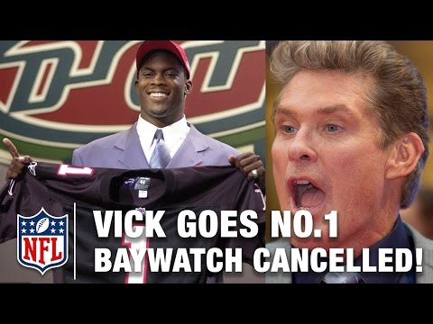 Michael Vick Goes 1st & Baywatch is Cancelled! | 2001 NFL Draft Rewind | Good Morning Football