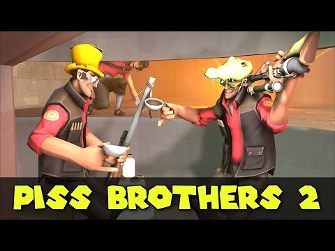 TF2: PISS BROTHERS 2 - El Búnker de Dustbowl!