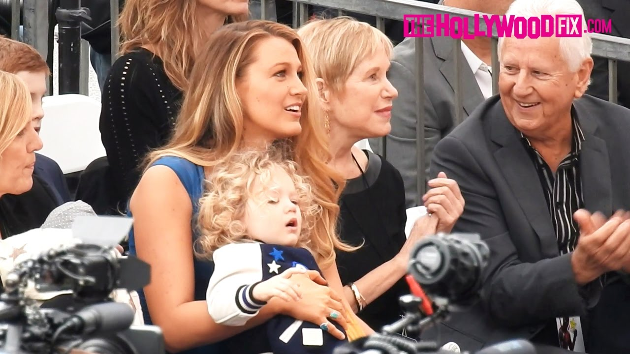 Blake Lively Tends To Her Children At Ryan Reynolds ...