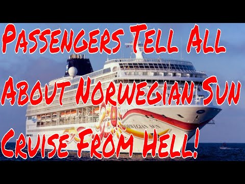 Norwegian Sun passengers Join Live Stream To Tell All About The Cruise From Hell + Travel Trivia