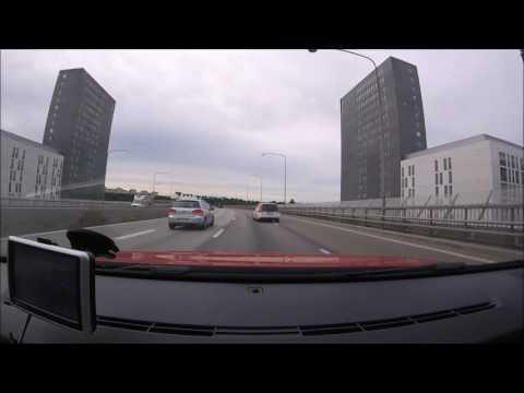 Car timelapse in Sweden (HD)