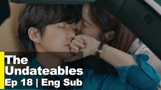 """Hwang Jung Eum Kisses Nam Goong Min On The Cheek! """"Here's a stamp~♥"""" [The Undateables Ep 18]"""