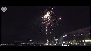 Firework Show Durham Bulls Baseball Game - 360 Degree 4K VR Video