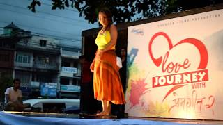 Love Journey with Prem Geet 2 butwal Hot Dance By Sonika