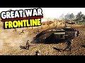 Epic WWI Castle Fortress Defense Line 1917 | Great War Mod | Men of War: Assault Squad 2 Gameplay
