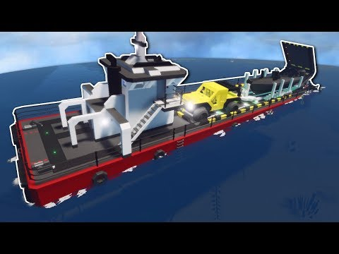 SINKING FERRY SHIP SURVIVAL! - Stormworks: Build and Rescue Multiplayer Gameplay