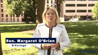 Sen. O'Brien promotes summer reading programs