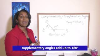 69 1b Complementary and Supplementary Angles for Saxon Math 76