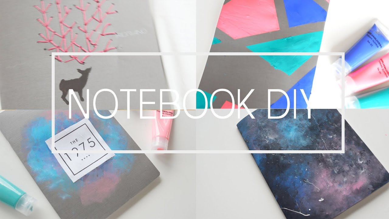 #BTS DIY • Quaderni tumblr // Tumblr notebook cover ITA