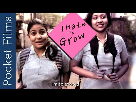 I Hate To Grow - A Story Of Two School Girls | Bangla Short