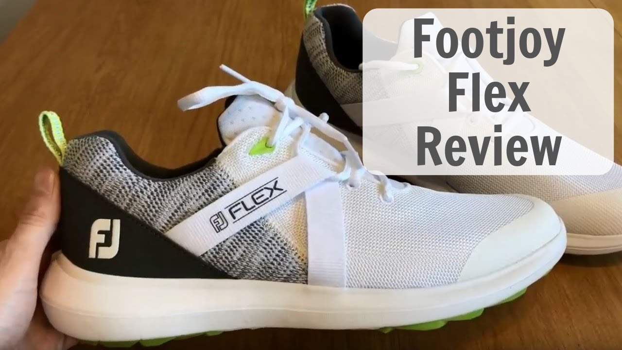 Footjoy Flex Golf Shoe Review Youtube